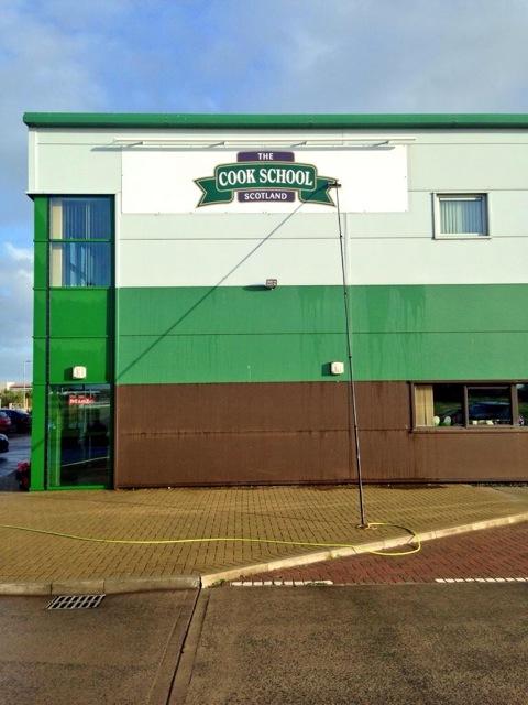 Cook school exterior shot